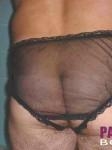 X-dresser showing off his hard phallus & various alluring lingerie.